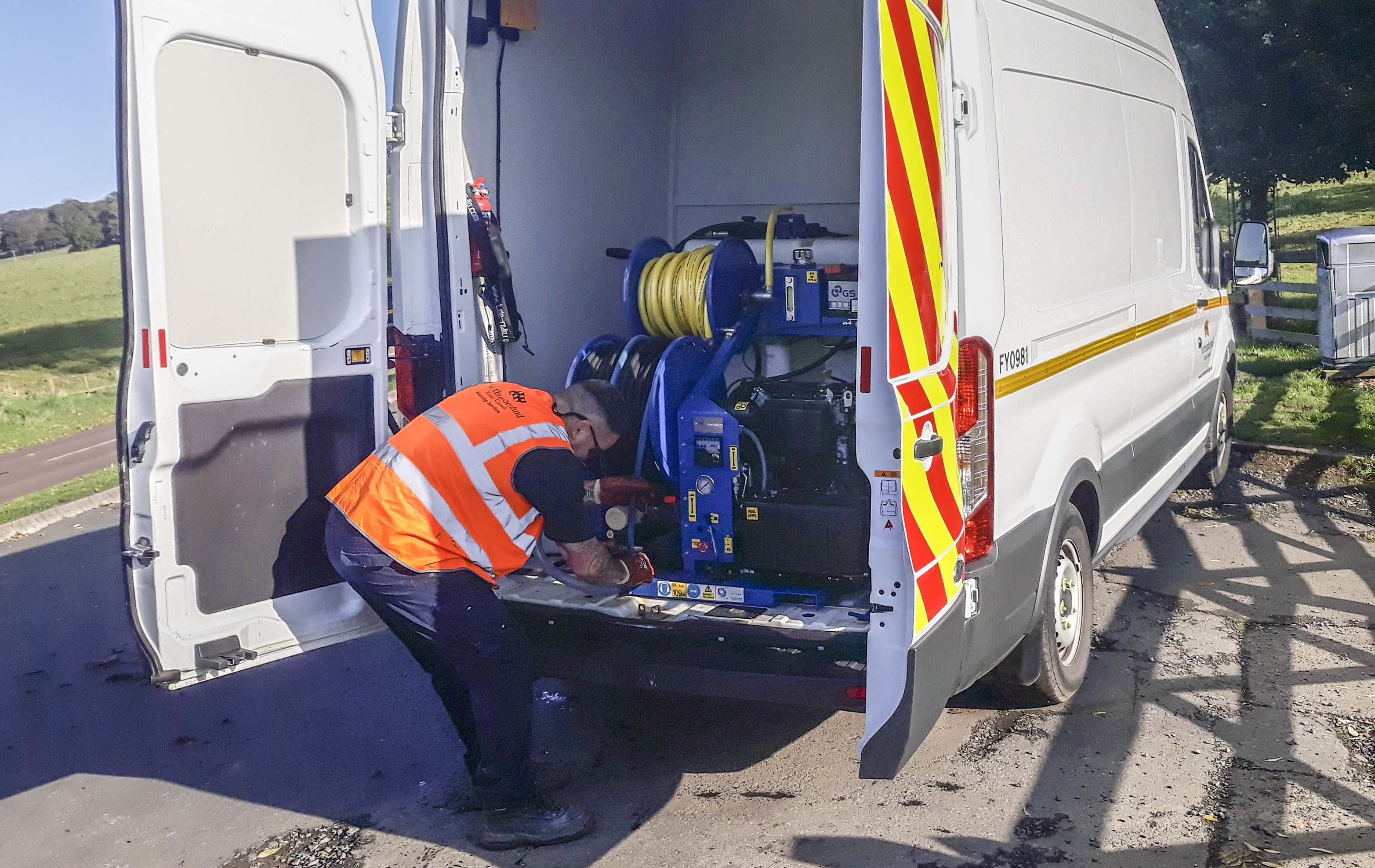 Lightweight Van-Pack Jetter Helps Council Improve Response Rates