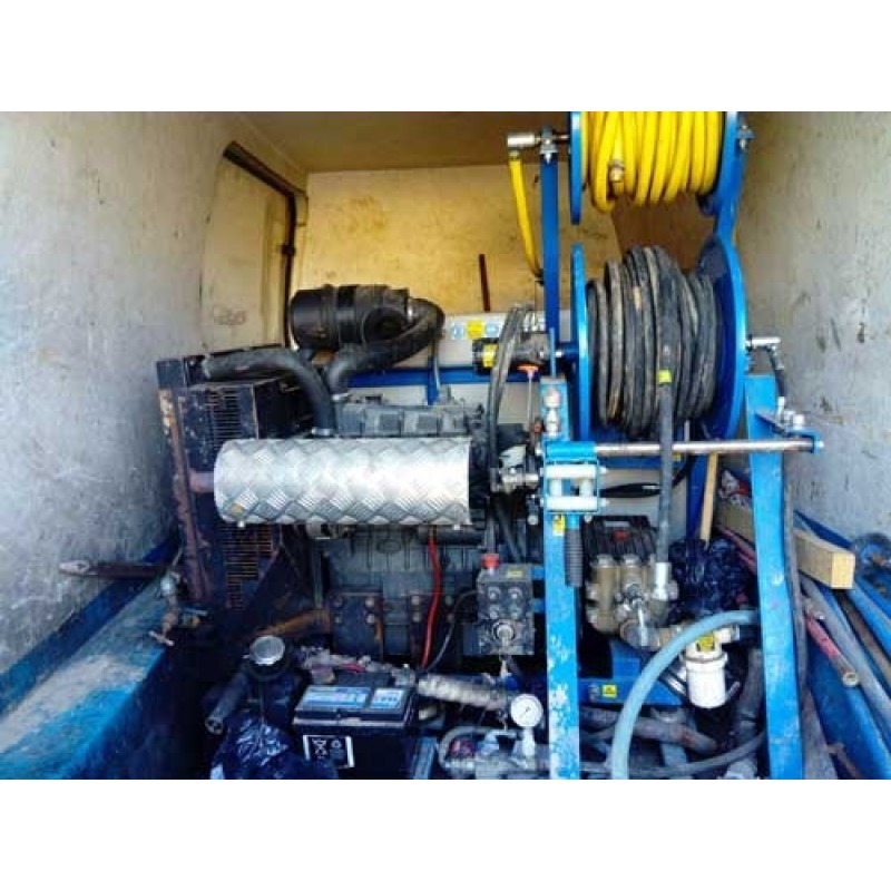 Use 4 Series Van Pack Jetter