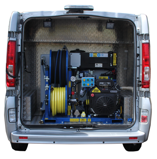 1 Series Van Pack Jetter