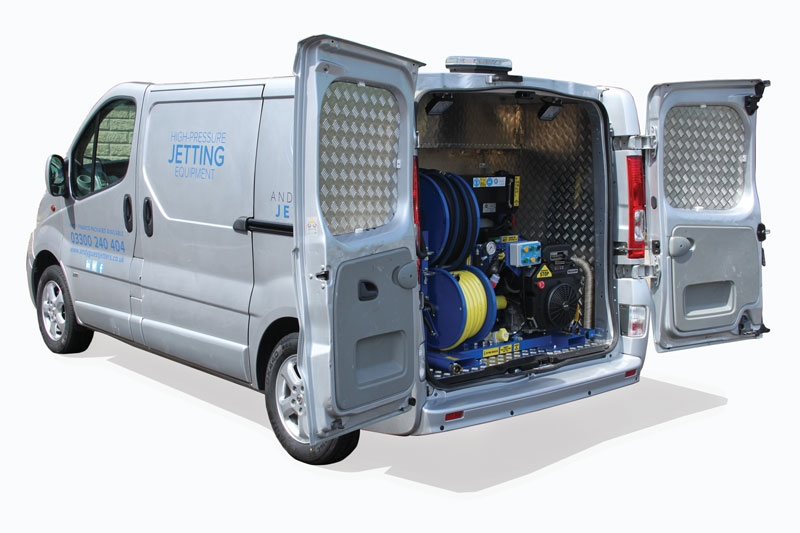 V-Pack 1 Series Jetter Van