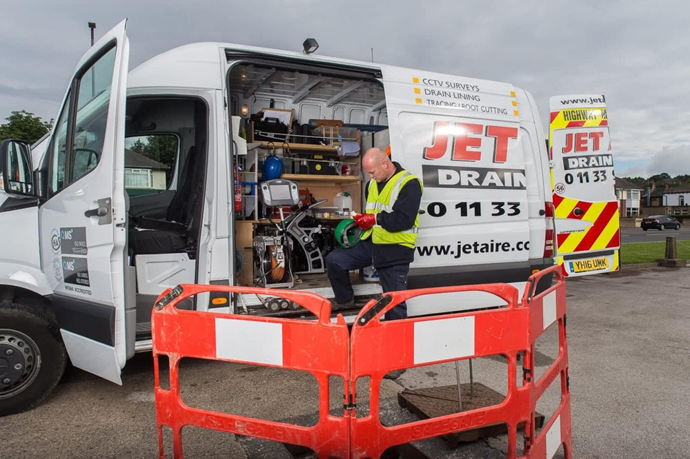 : Jet Aire Services van packs are designed as a multipurpose drainage vehicle